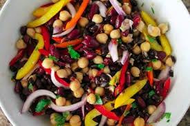 Santa Fé three bean salad