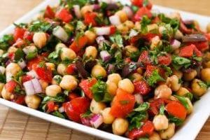three bean salad for cinco de mayo