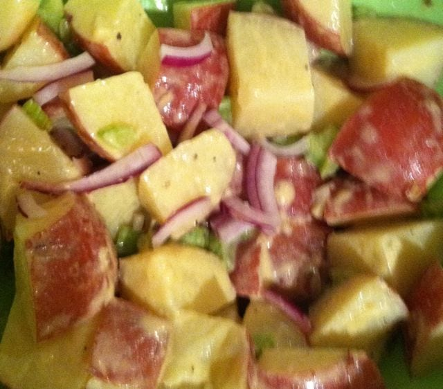 ... Cookbook / Free Recipe of the Month / Dijon Potato Salad for the 4th