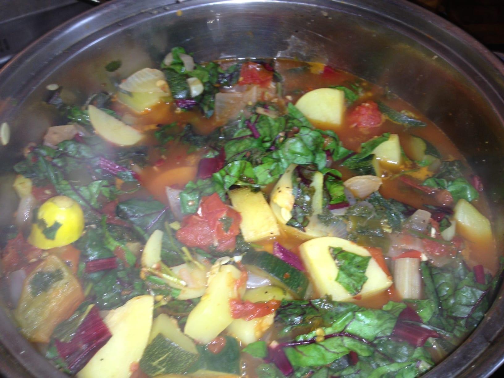 Simply Natural Gourmet Cookbook Italian Summer Vegetable Stew - Simply ...