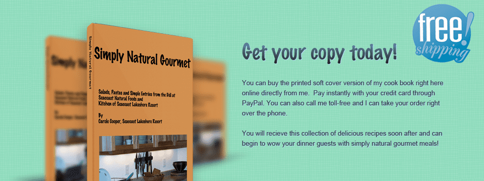 Simply Natural Gourmet Paperback