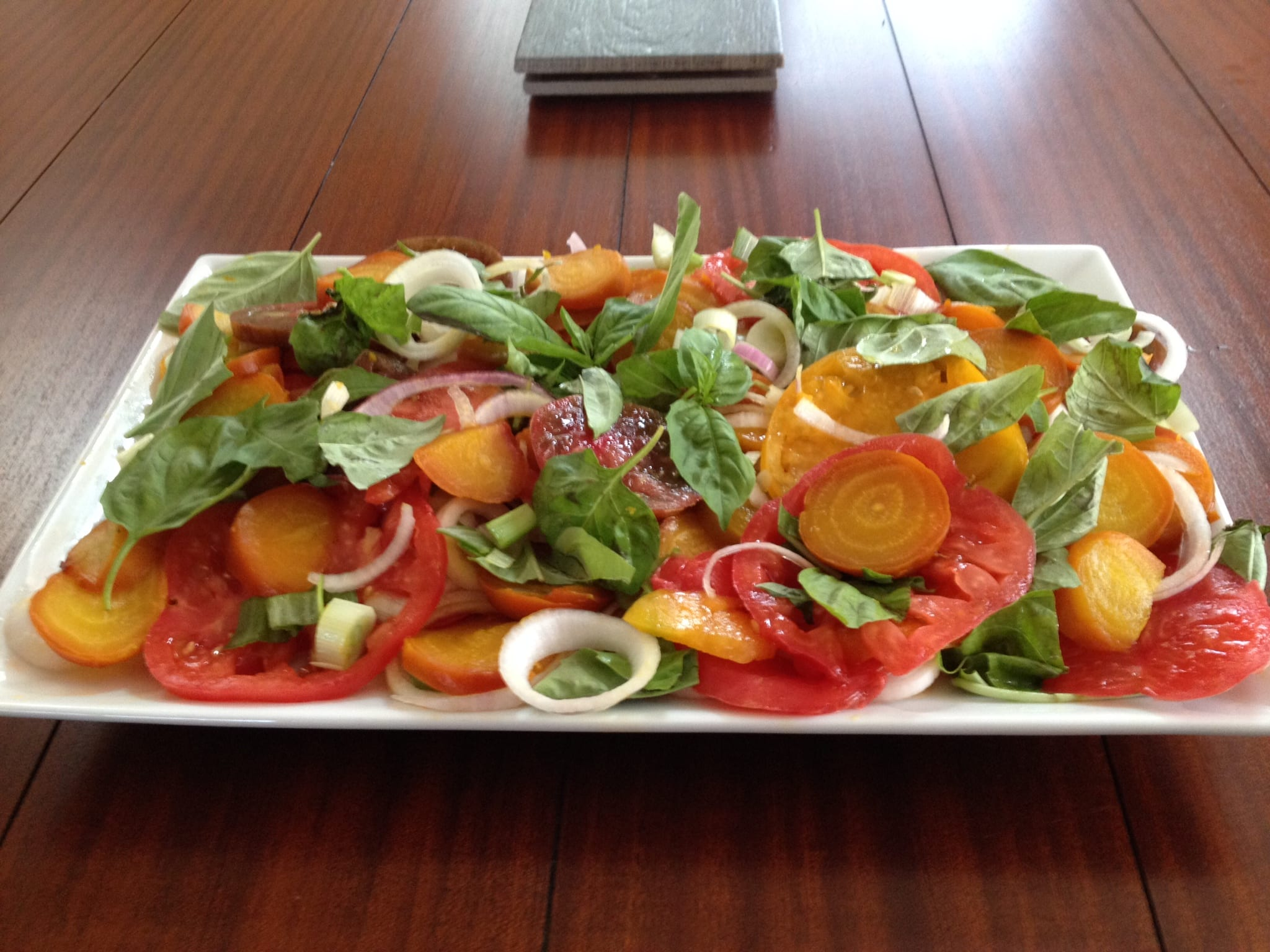 ... Roasted Beet and Tomato Salad - Simply Natural Gourmet Cookbook