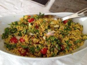 Saffron Quinoa