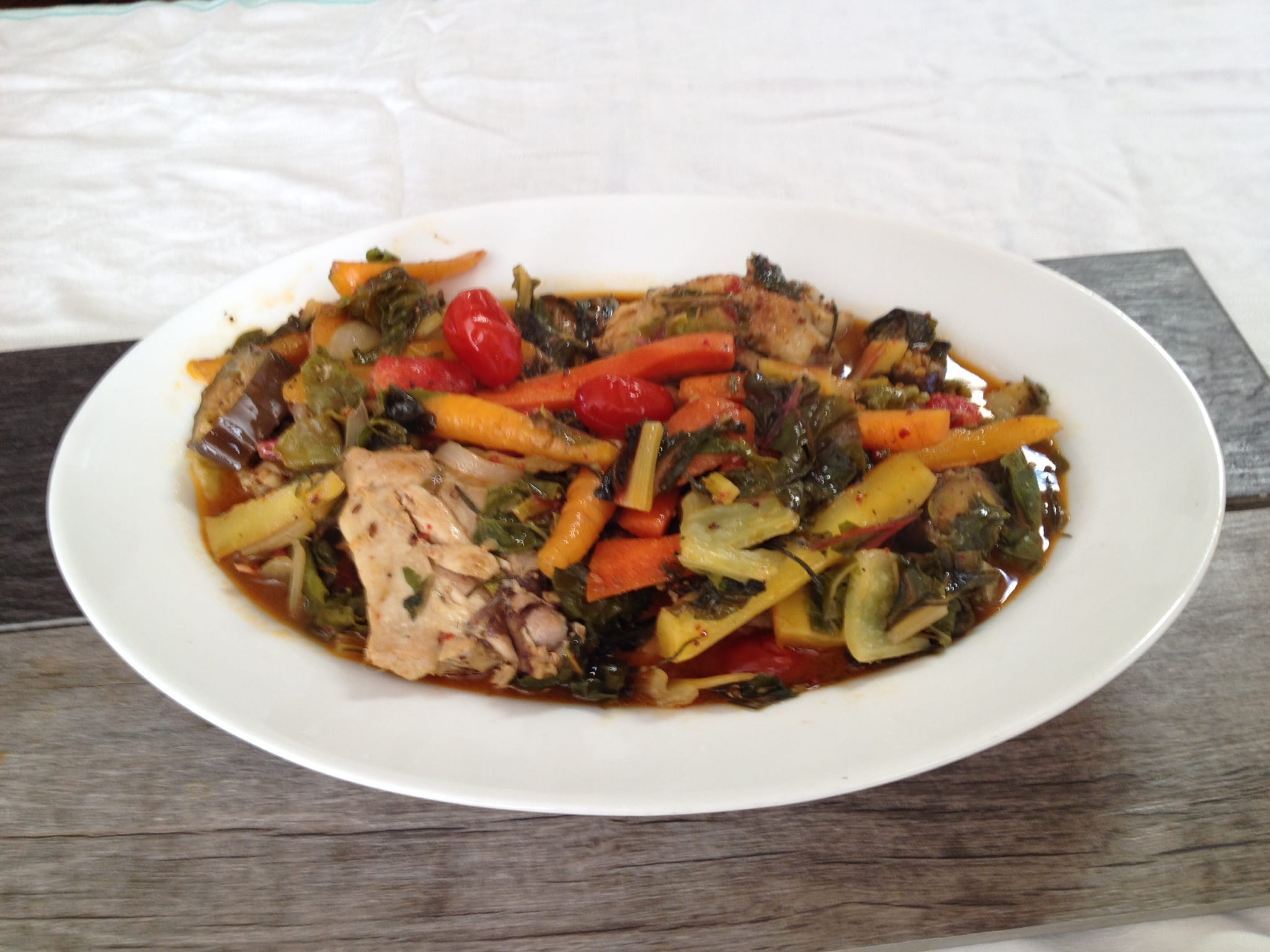 ... Rosemary Chicken Thighs with Chard - Simply Natural Gourmet Cookbook