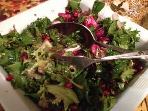 Endive Beet Salad with Pomagranate