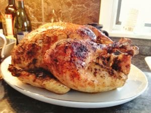 Holiday salted turkey