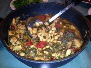 winter cassoulet