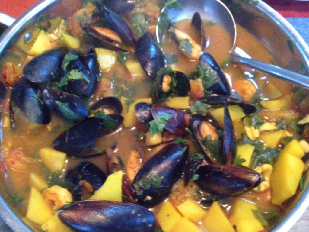 saffron seafood stew