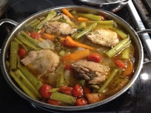 organic chicken vegetable soup
