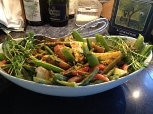 Dijon Potato Salad with Green Beans & Arugula