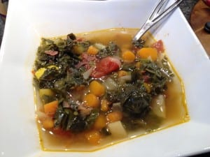 Carrot Kohlrabi Soup with organic greens3